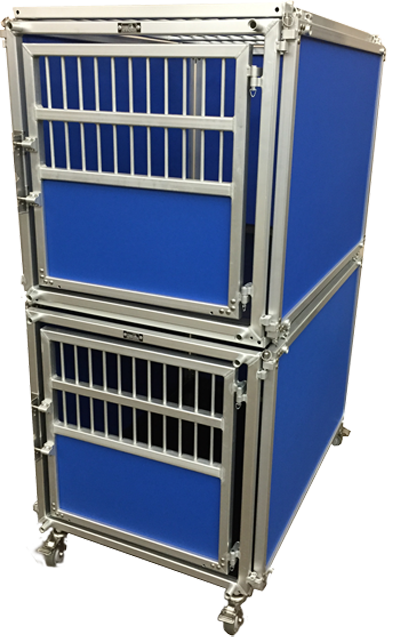 Blue Double Express Kennels