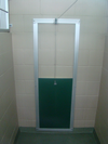 Green Suite Door